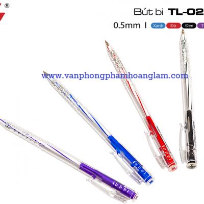 Cung cấp phân phối bút bi thiên long nét nhỏ TL-027