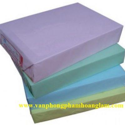 Bán giấy ford nhập màu xanh dương A4 80 gsm