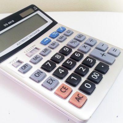 Máy tính casio phím lớn DS 8818 và 3018