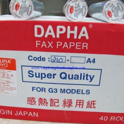 Phân phối giấy fax nhiệt sakura toyo nhật bản giá rẻ