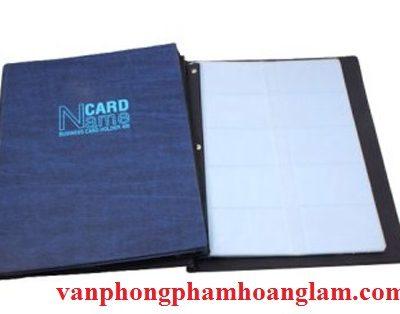 Bán hộp (sổ) đựng danh thiếp Name Card 400 gáy vuông